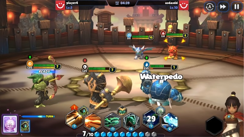 Skylanders Ring of Heroes review PvP battle graphics