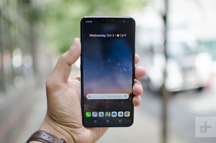 The LG V40 ThinQ, G7 ThinQ, and Watch W7 are discounted for the holidays