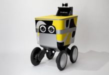 Say hello to Serve, Postmates' cute autonomous delivery robot