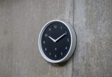 The wall clock finally gets an upgrade with the Amazon Echo Wall Clock