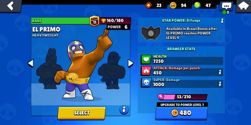 Brawl stars review el primo brawler