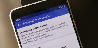 How to delete your Facebook account on Android