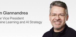 Apple AI Chief John Giannandrea Gets Promotion to Senior Vice President