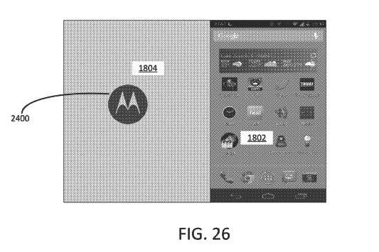 google patent foldable smartphone 2018 folding moto