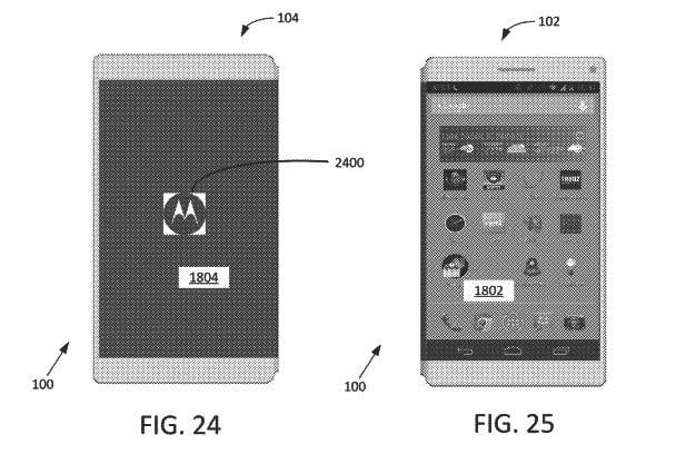 google patent foldable smartphone 2018 folding moto 2