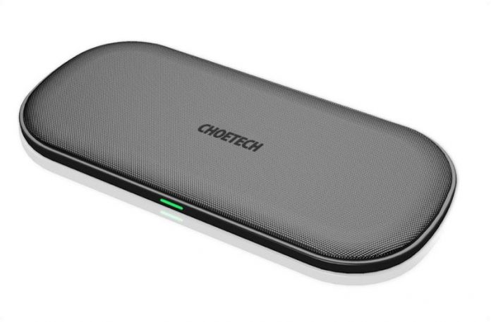 MacRumors Giveaway: Win a 5-Coil 'PowerDual' Qi Wireless Charger That Can Charge 2 iPhones at Once from Choetech
