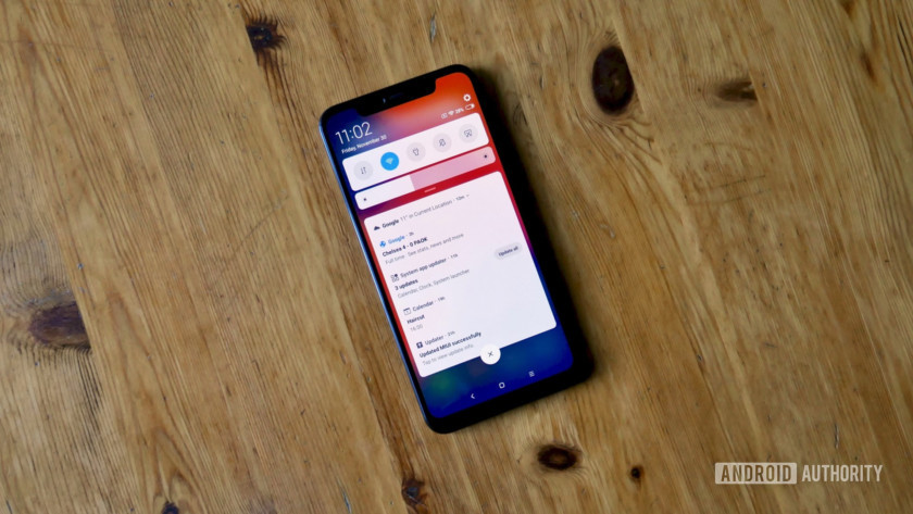 Xiaomi Mi 8 Pro notifications