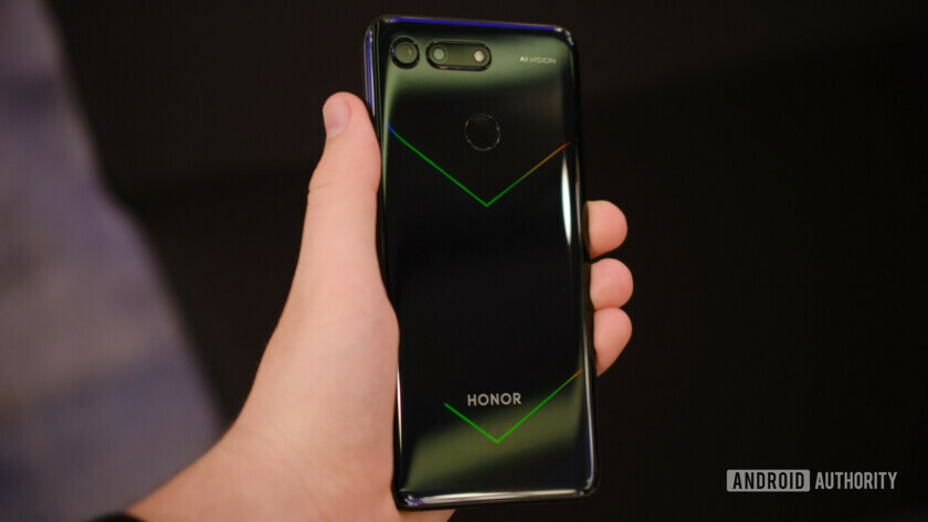 Honor View20 back