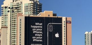 Ahead of CES, Apple Puts Up Billboard Touting Privacy in Las Vegas