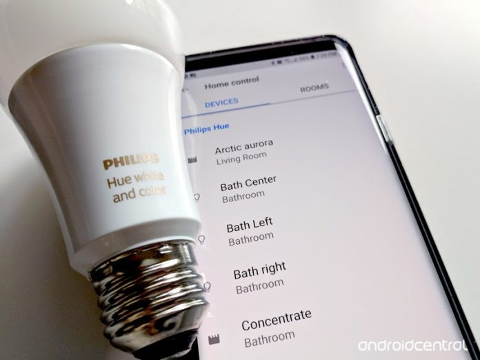How to pair and set up Philips Hue lights with Google Assistant