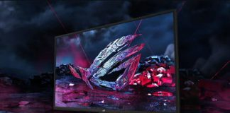 The new ROG Strix gaming monitors from Asus are as big as your TV