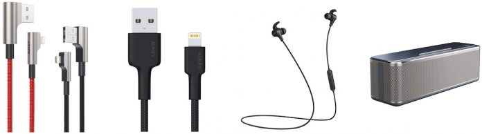 Amazon Deals: Save on Aukey's MFi-Certified Lightning Cables, Twelve South's PowerPic Frame, and More