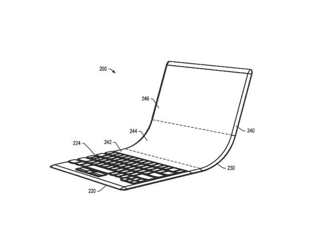 lenovo patent folding laptop oled display 1