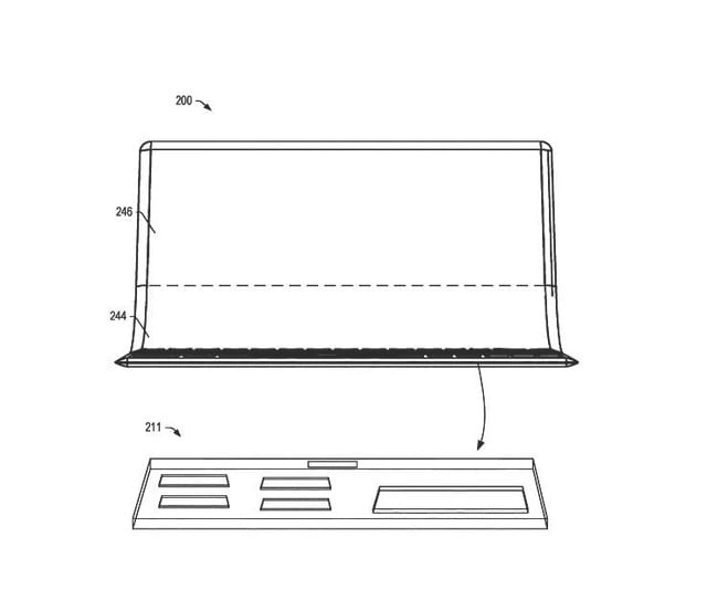 lenovo patent folding laptop oled display 3