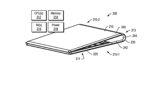 lenovo patent folding laptop oled display 4
