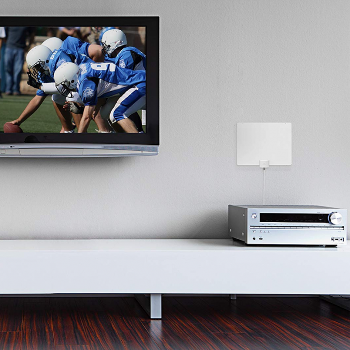 Watch TV for free with the refurb Mohu Leaf 50 HDTV Antenna at $30 off