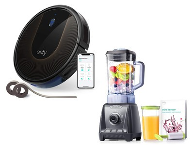 Receive a free high-speed blender with the $300 Eufy RoboVac 30C vacuum