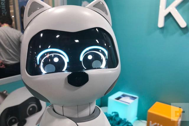 cutest companion robots ces 2019 zoetic kiki staring