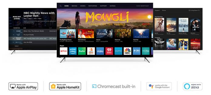 Vizio Says 2016 4K SmartCast TVs Will Support AirPlay 2 and HomeKit