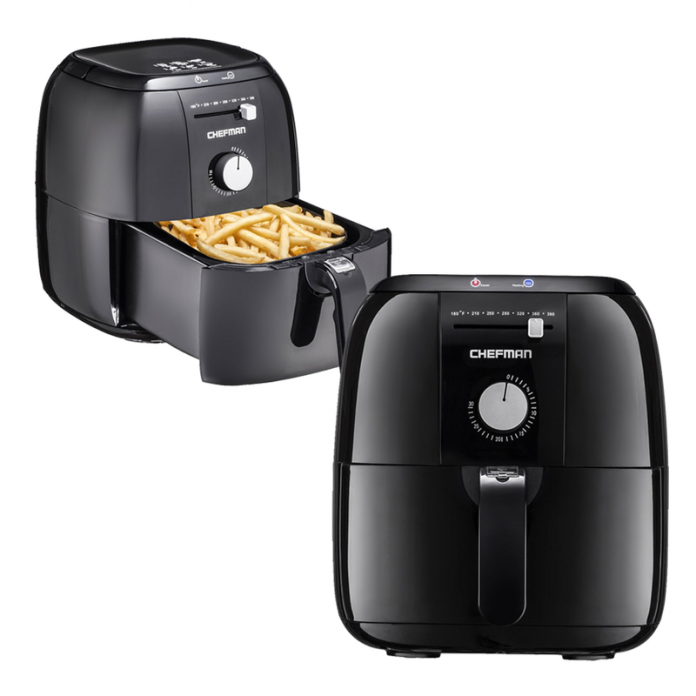 Perfect the art of french fries with 50% off Chefman's Analog Air Fryer