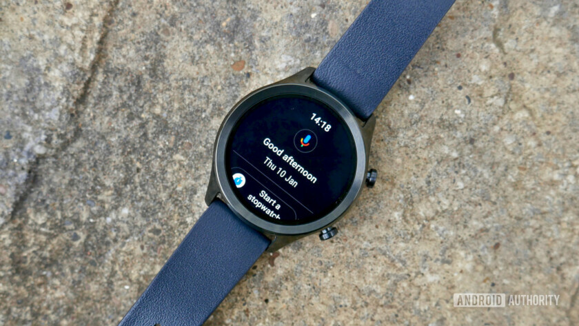 TicWatch C2 review Google Assistant