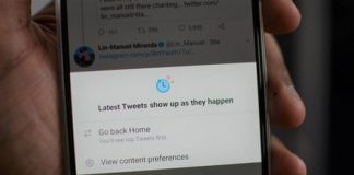 Here's how to switch to Twitter's reverse chronological feed