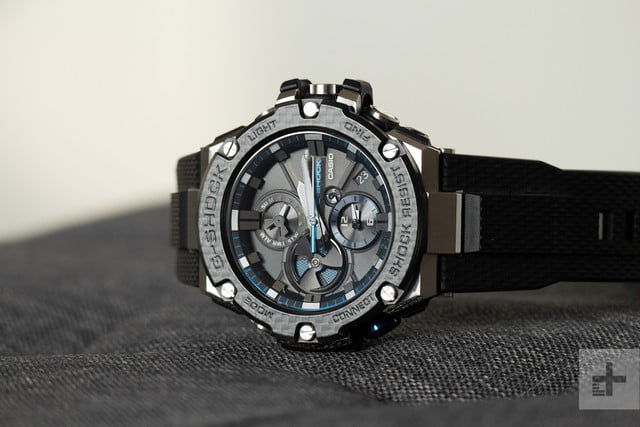 3803c94c69546 Casio s all-metal G-Shock uses its smart tech carefully
