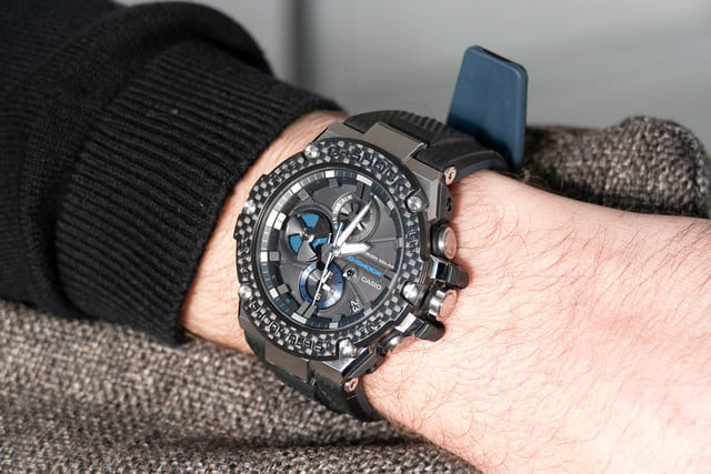 704ab9b3ebfe Casio s all-metal G-Shock uses its smart tech carefully