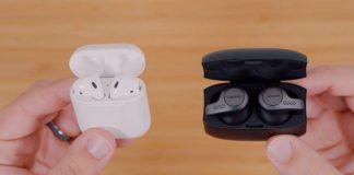 Apple's AirPods vs. Jabra's Elite 65t Wire-Free Earbuds