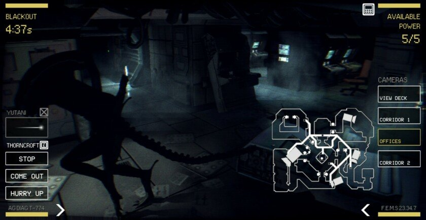 Alien Blackout review