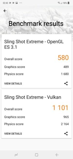 galaxy m20 benchmark scores