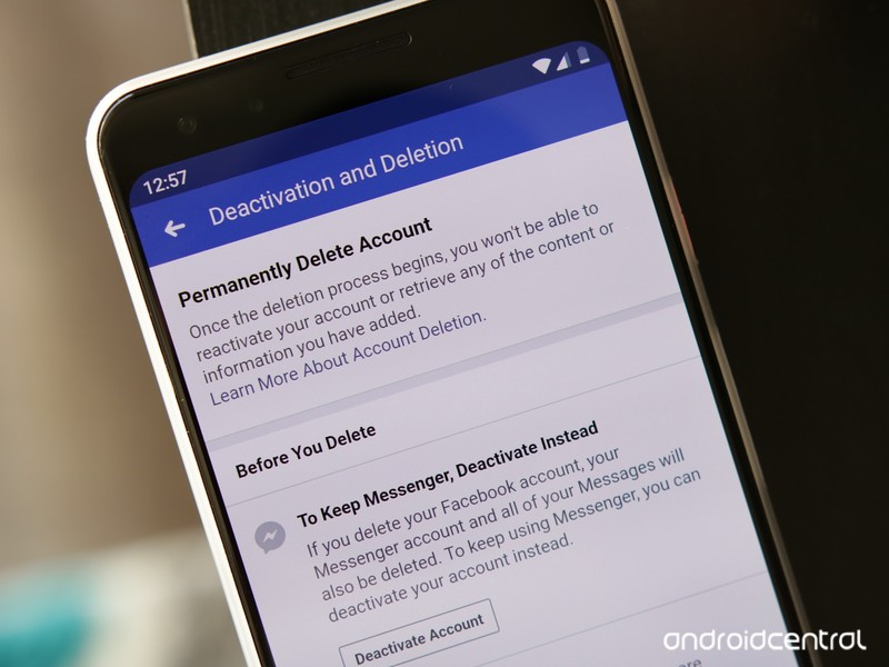 How to delete your Facebook account on Android - AIVAnet