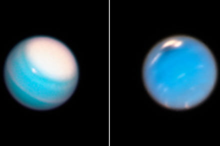 Epic storms rage across Uranus and Neptune in new Hubble images