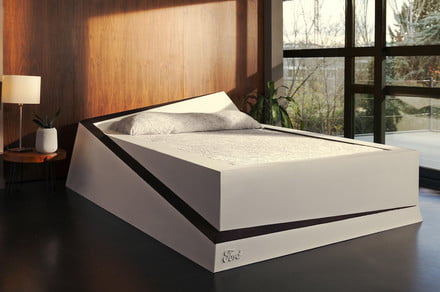 Ford's ingenious bed for couples keeps mattress hogs in their own half