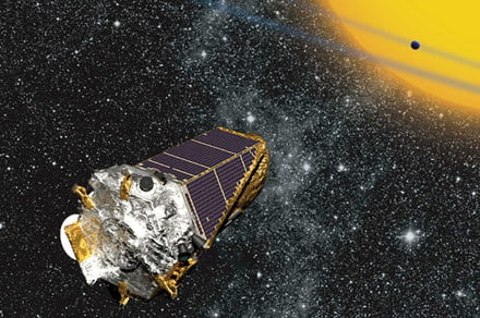 After Kepler kicks the bucket, NASA releases its final image