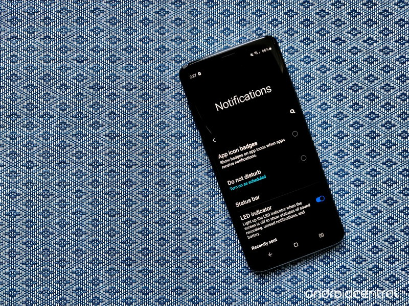 Get your notifications in order on your Samsung Galaxy phone