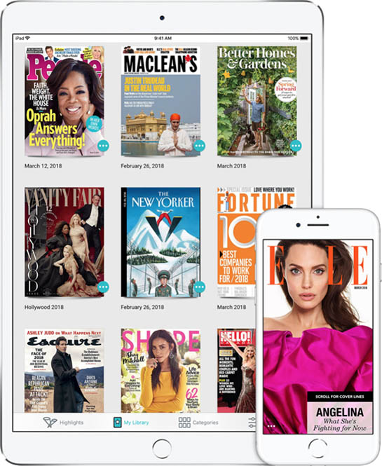 Magazine Publishers Support Apple's 50% Split for Paid Apple News Service