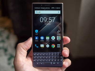 Try the slate BlackBerry KEY2 LE smartphone on sale for $400