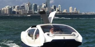 SeaBubbles' new electric hydrofoil boat is the aquatic equivalent of a Tesla
