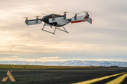 Want to see the future of transport? Watch this drone taxi go airborne