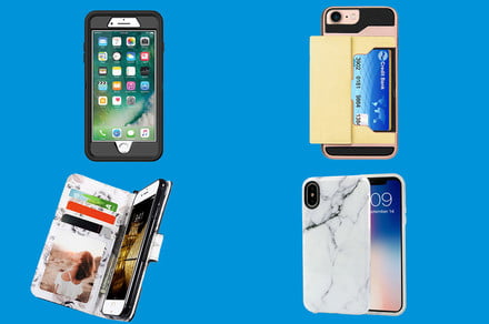 various colors 3ef1f d8022 Walmart discounts Apple iPhone cases for the XR, XS, and other ...