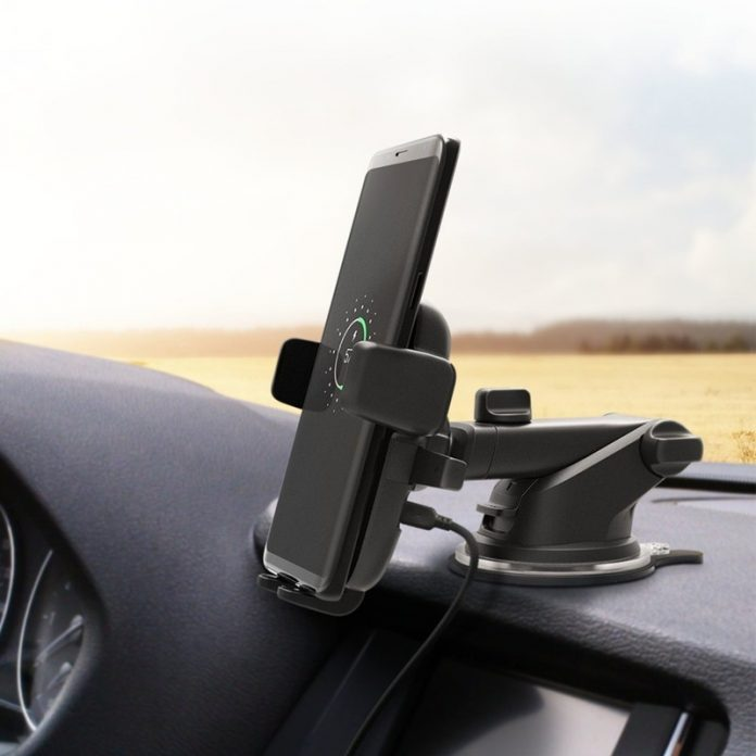 Charge your phone on the way with iOttie's QI Wireless Car Mount at 34% off
