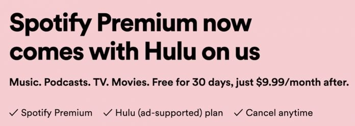 Spotify Premium Now Includes Hulu's Ad-Supported Plan at No Extra Cost