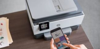 The new HP OfficeJet Pro's smart app cuts your time spent scanning time in half