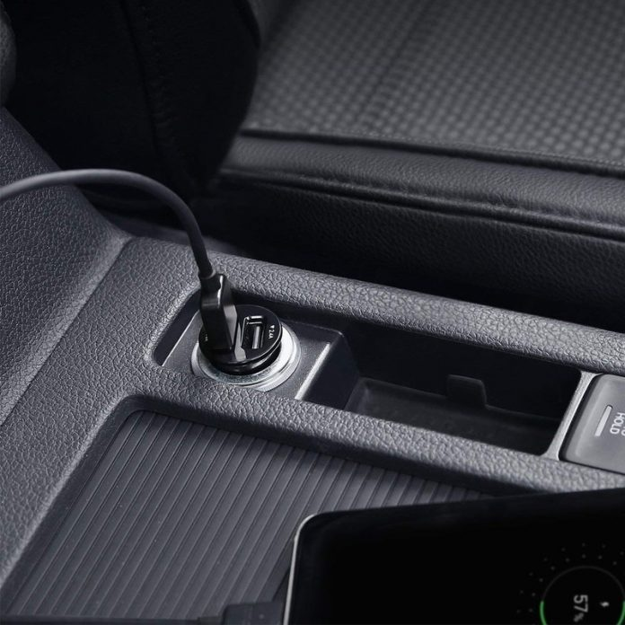 Aukey's tiny USB Car Charger on sale for $6 will look built into your car
