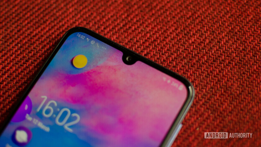 Samsung Galaxy M30 Infinity U display notch