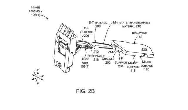 microsoft patent shows a redesigned hinge surface pro 2