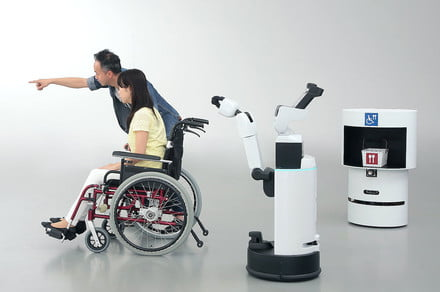 Robot assistants from Toyota and Panasonic gear up for the Tokyo Olympics