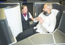 British Airways' new Club Suite for business class comes with a door