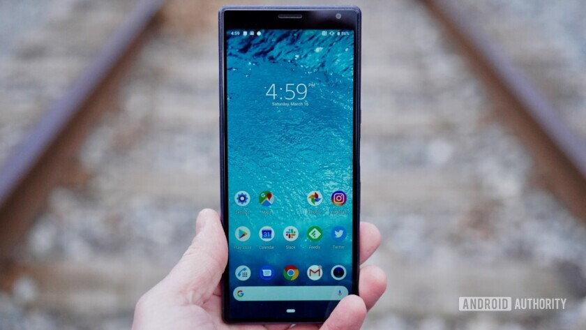 Sony Xperia 10 Plus Review screen